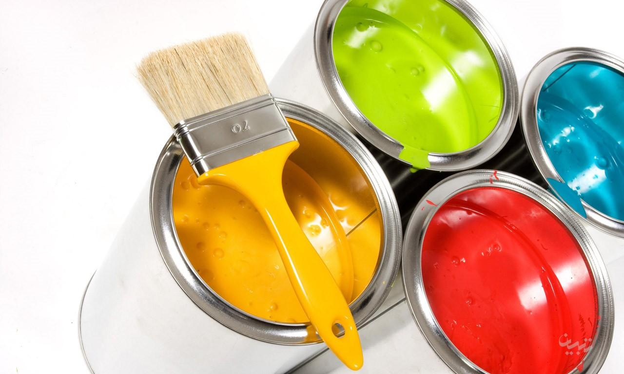 پارافین مایع در ساخت رنگ ها استفاده می شود
