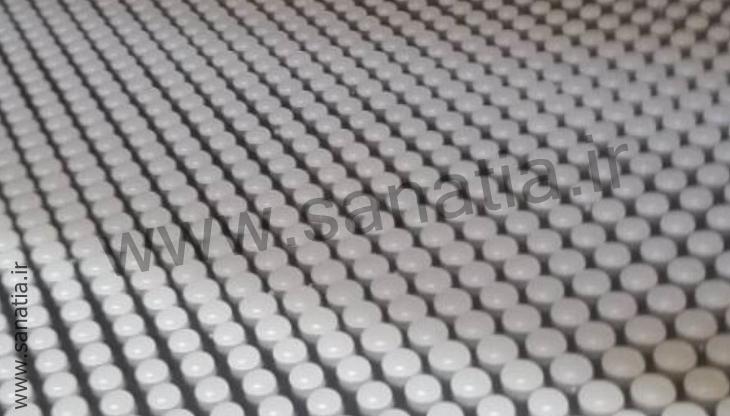 پارافین گرانولی شده در کارخانه
