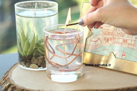 خرید پارافین ژله ای برای شمع
